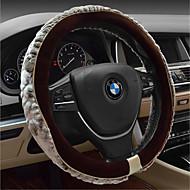 Winter Car Steering Wheel Cover