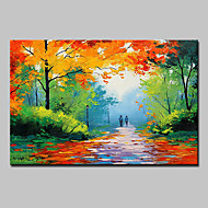 Hand Painted Modern Abstract Landscape Oil Paintings On Canvas Wall Art Pictures For Home Decoration Ready To Hang