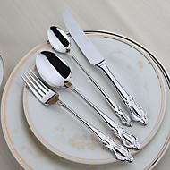 Nehrđajući čelik 304 Vilica / Nož / Čajna žličica / Specijalna žlica Žlice / Vilice / Noževe 4 komada