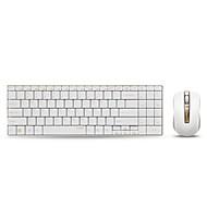 rapoo drahtlose Maus-Tastatur-Combo 9160 ultradünne Multimedia-Tastatur-Maus 1000dpi für Tastatur Stil Apple Mac