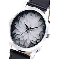 Relojes Mujer 2016 Fashion Watch Women Lotus Flowers Quartz Wristwatch Unisex Children Watch Relogio Feminino