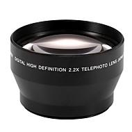עדשת טלה טלה 2.2x 67 מיליון עבור Canon EOS 550D 600D 650d 700d 60D 70d 18-135mm עדשה 18-105mm Nikon העדשה