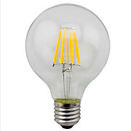 4W E26/E27 LED žárovky s vláknem G95 4 SMD 5730 280 lm Teplá bílá / Žlutá Ozdobné V 1 ks
