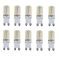 10PCS E14/G9 64LED SMD3014 AC110V/220V 180-210LM Warm White/White/Natural White Decorative/Waterproof LED Bi-pin Lights