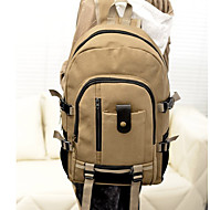 Unisex Canvas Casual Outdoor Backpack All Seasons