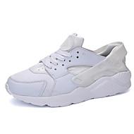 גברים-נעלי אתלטיקה-בד-נעלי בובה (מרי ג'יין)-שחור / לבן / שחור ואדום / שחור ולבן-שטח / משרד ועבודה / קז'ואל-עקב שטוח