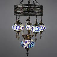 6W נברשות ,  מודרני / חדיש / סגנון חלוד/בקתה אחרים מאפיין for LED מתכת חדר שינה / חדר אוכל / חדר עבודה / משרד / מסדרון