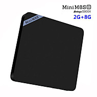 Mini M8S II TV BOX Amlogic S905X Quad Core Android 6.0 RAM 2G ROM 8G WIFI