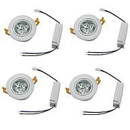 לד  Downlights לבן חם / לבן קר LED ארבעה חלקים