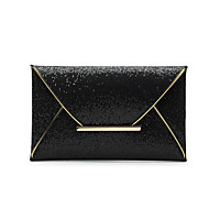 Women Clutch PU Casual Gold Black Coffee