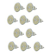 6W E14 / GU10 / E26/E27 תאורת ספוט לד MR16 60 SMD 3528 550-600 lm לבן חם / לבן קר דקורטיבי / עמיד במים V עשרה חלקים