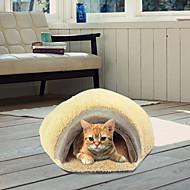 Kat bedden Huisdieren Kussen Zacht bruin Fleece
