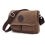 Men Canvas / Cotton Casual / Outdoor Shoulder Bag