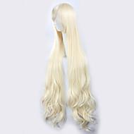 カゲロウプロジェクトさくらジャスミン光黄金色の長い巻き毛ハロウィーンは、合成かつら衣装ウィッグをウィッグ