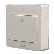 (Nota dez embalado) com o interruptor de um ponto de folha de casa