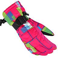 כפפות סקי כפפות ספורט/ פעילות / כפפןת חורף לנשים / לגברים / כל כפפות ספורט/ פעילותשמור על חום הגוף / נגד החלקה / עמיד למים / נושם / עמיד