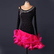 Cosplay Kostüme / Party Kostüme Cosplay Fest/Feiertage Halloween Kostüme Rot Spitze Kleid Halloween / Weihnachten / Karneval FrauOrganza