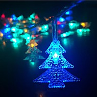 40-LED 5m Sternlicht wasserdichten Stecker im Freienweihnachtsfeiertagsdekoration Licht LED-String-Licht