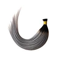 ombre harmaa i torjuen hiustenpidennykset suora 1b / harmaa keratiini fuusio hiustenpidennykset 1g / s