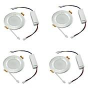 Downlight de LED Branco Frio LED 4 pçs