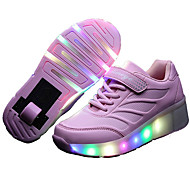 LED Light Up Shoes,Kid Boy Girl Roller Shoes / Ultra-light Single Wheel Skating/ Athletic / Casual