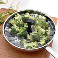 Vegetable Steamer 1PC Creative מטבח גאדג'ט / רב שימושי / איכות מעולה / איכות גבוהה עזרי בישול פלדת על חלדCreative מטבח גאדג'ט / רב שימושי