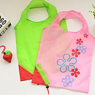Strawberry Storage Bag Tote Bag Collapsible Foldable (Random Colour)