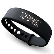 W5 Pedometer Sleep Monitor Temperature Bracelet Smart Watch Wrist Watch
