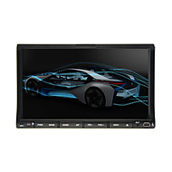 "2 din 7 ""lcd touch screen auto lettore dvd nel cruscotto con bluetooth, RDS, ipod-input, radio stereo, atv"