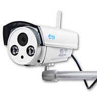 IP Camera Wireless 1 megapixel sicurezza registrazione audio 720p wireless jooan® notte all'aperto visione 65-100ft