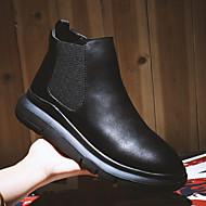 Masculino Botas Conforto Curta/Ankle Microfibra Inverno Casual Conforto Curta/Ankle Plataforma Preto 2,5 a 4,5 cm