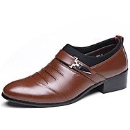 Men's Shoes Leatherette Spring Summer Fall Winter Comfort Fashion Boots Oxfords Rivet For Casual Outdoor Office & Career Party & Evening