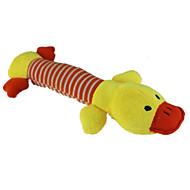 猫用おもちゃ / 犬用おもちゃ ペット用おもちゃ ぬいぐるみ / きしむおもちゃ キーッ ブルー / ピンク / イエロー コットン