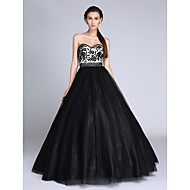 2017 TS Couture®Formal Evening Dress Ball Gown Sweetheart Floor-length Tulle with Beading / Lace