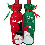 1pcs Weihnachtsweinflasche Weinflasche Tasche