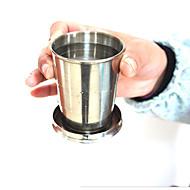 Nejnovější nápojové potřeby / Vinné skleničky / Cestovní hrnečky 1pcs Nerezová ocel, -  Vysoká kvalita