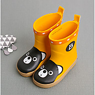 Boy's Boots Summer Others Rain Boots Synthetic Outdoor Flat Heel Others Yellow Khaki Others