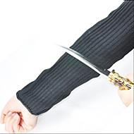 1 pari top leikkaus ulkona arm vartija vastaan lasi veitsi leikkaa käsine ranneke viillonkestävät turvallisuutta hihat