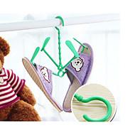 פלסטיק-סוליה-קולבים לנעליים(צהוב / ירוק)