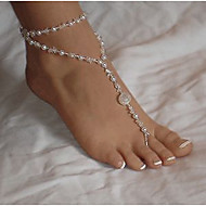 Women's Anklet/Bracelet Pearl Imitation Pearl European Multi Layer Jewelry For Daily Casual