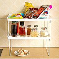 víceúčelový stojan skládací rack tvůrčí kuchyně koupelna kuchyňské zásoby