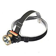 אורות זוהר אופניים / הסוללה Case LED 300 Lumens מצב Cree Q5 כפתור סוללת ליתיום מיקוד מתכוונן / עמיד למים / קל במיוחד / Zoomable