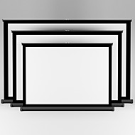 Office Business Projector Portable Table Screen 40 inch 4:3 Easy Carry Matte White Projection For Training