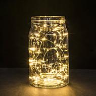 30 LED-Leuchten Kupferdraht 3m Lichterketten für Weihnachtslichterfest Hochzeit oder Hauptdekoration Lampe