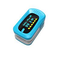 ying shi finger pulse oximeters manuel lcd display med voice / hukommelse opbevaring batteri hvid / rød / grøn / blå / orange