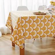 Obdélníkový Se vzorem / Sešívaný Ubrusy , Směs bavlny Materiál Hotel Jídelní stůl / Tabulka Dceoration