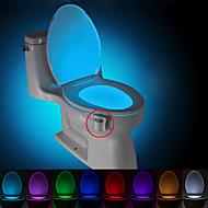 brelong Bewegung aktiviert Toilette Nachtlicht führte Toilette Licht Bad Waschraum