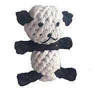 Zabawka dla kota Zabawka dla psa Zabawki dla zwierząt Zabawki do żucia Zabawka do czyszczenia zębów Lina Tkany Panda Tekstylny