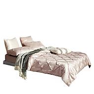 Pussilakanasetti setit Tukeva 6 osainen Silk/Cotton Blend Hand-made Silk/Cotton Blend 1 kpl tasainen lakana 5kpl (1 päiväpeite, 2
