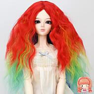 1/3 1/4 BJD sd dz MSD pop pruik accessoires lang krullend kinky recht multi-color haar pruiken niet voor menselijke volwassen